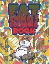 Fat Animals Coloring Book