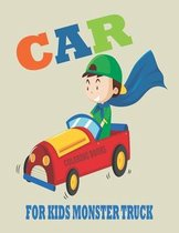 Car Coloring Books for Kids Monster Truck