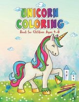 Unicorn Coloring Book For Children Ages 4-8