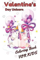 valentine's day unicorn coloring book for kids