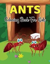 Ants Coloring Book for Kids