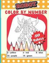Robot color by number