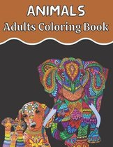 Animal Adults Coloring Book