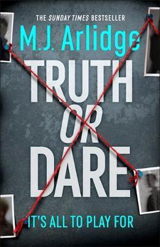 Boek cover Truth or Dare van m. j. arlidge (Hardcover)