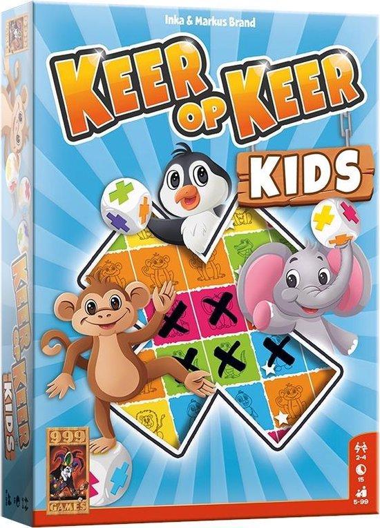 Afbeelding van het spel Keer op Keer Kids Dobbelspel