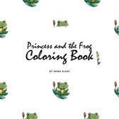 Princess and the Frog Coloring Book for Children (8.5x8.5 Coloring Book / Activity Book)