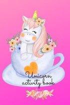 Unicorn activity book