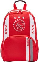 Ajax rugzak klein kids rood/wit
