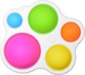 Simple Dimple Fidget - Fidget Toy - Pop It Fidget Toy van TikTok - Siliconen Druk Spel - BPA vrij