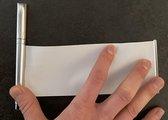 Spiekpen - pen met uittrekbaar papier
