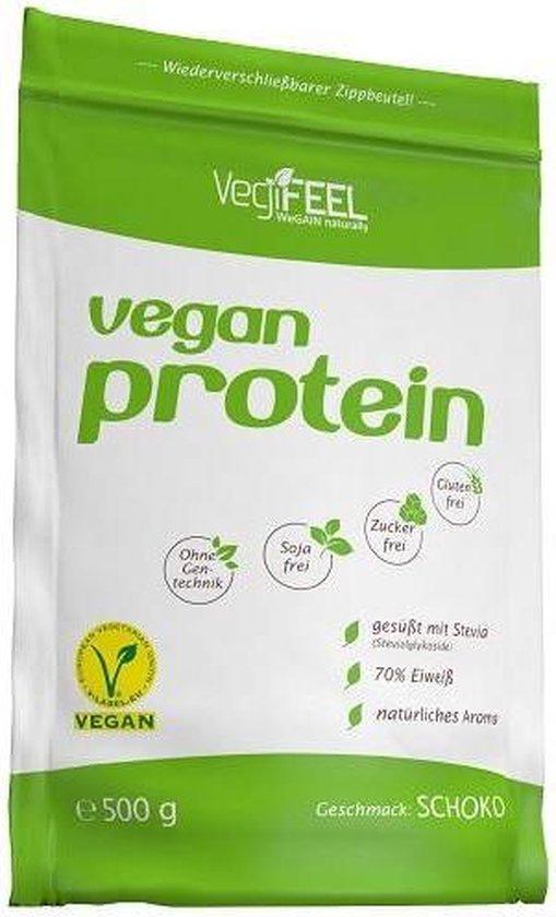 Vegan Protein 500gr Chocolade