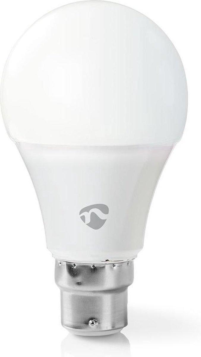 Dimbare Slimme Multi-colour Lamp   B22   470 lm   6 W   Wit / RGB / Warm Wit   RGB + 2700 K   Smartphone app   Wi-Fi