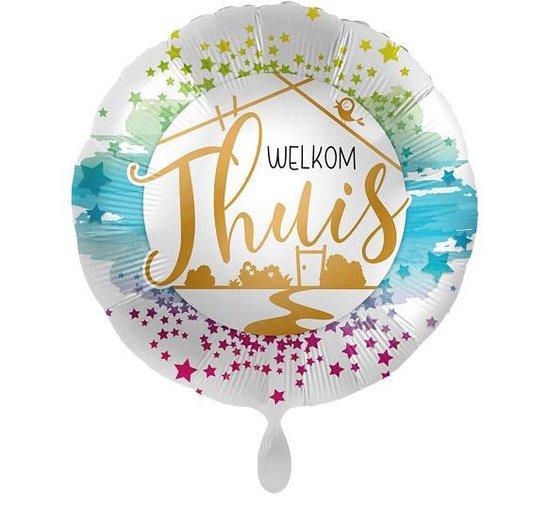 Everloon - Folieballon - Welkom Thuis - 43cm - Voor gelukwens