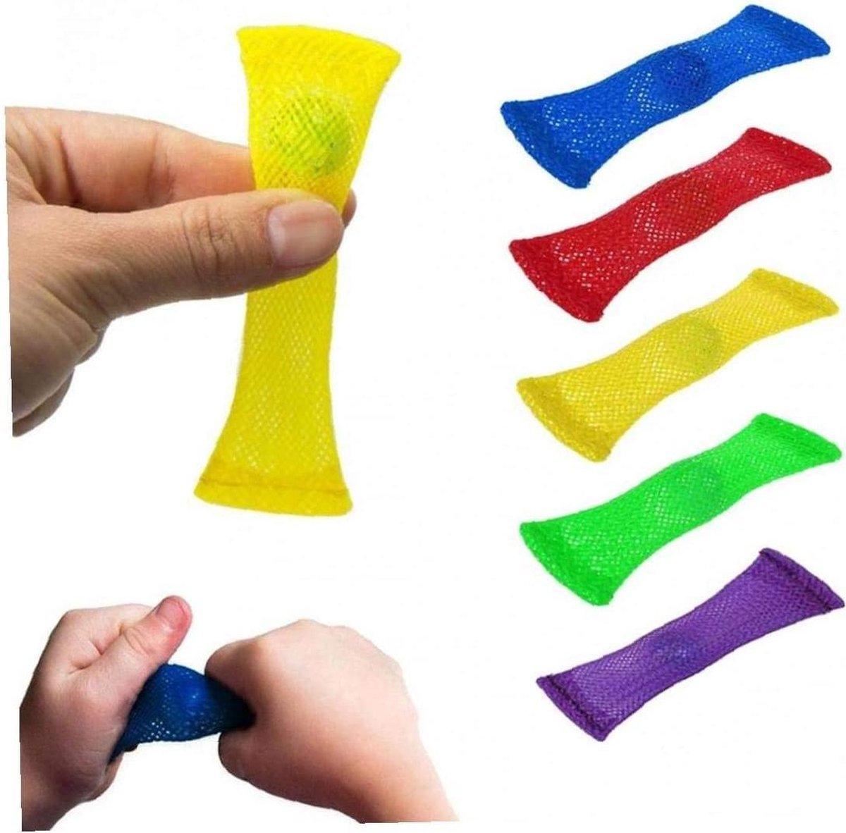 Geen merk - Mesh and Marble - Fidget Toys - Pop it - 5 STUKS - MEHMIES