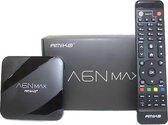 Amiko A6N Max | Tv ontvanger I Topmodel 4K Android en IPTV mediabox