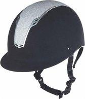 Cap veiligheidshelm Graz zwart / zilver maat XS/S (51-55 cm)