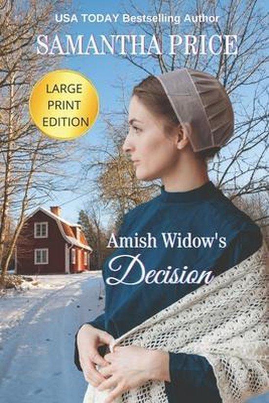 Amish Widow's Decision LARGE PRINT
