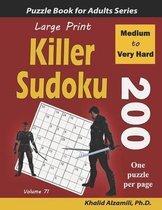 Large Print Killer Sudoku