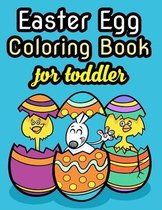Easter Egg Coloring Book For Toddler