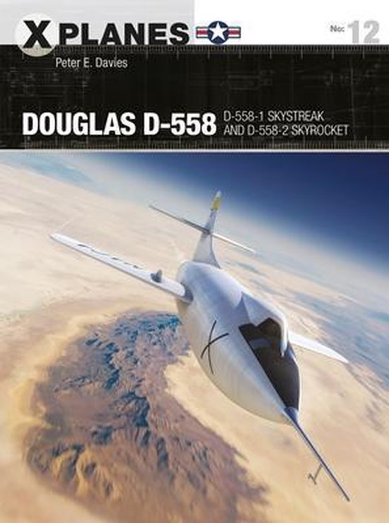 Boek cover Douglas D-558 van Peter E. Davies (Paperback)