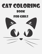 Book Cat Coloring for Girls