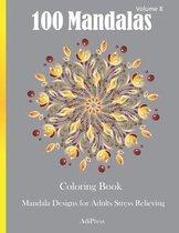 100 Mandalas Coloring Book