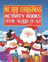Merry Christmas Activity Books For Kids 9-12