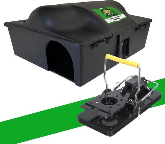 Verminbuster Rattenvoerdoos + Rattenval - Voerdoos Ratten / Muizen