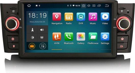 Autoradio voor Fiat Punto | Fiat Linea Navigatie | Android 10