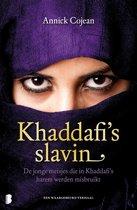 Boek cover Khaddafis slavin van Annick Cojean (Onbekend)