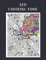 Leo Coloring Book