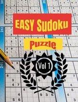 EASY Sudoku Puzzle Vol 1