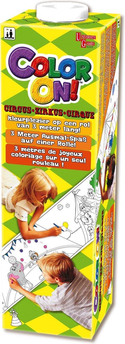 Mini Color On - Circus - Knutselset Tekenen