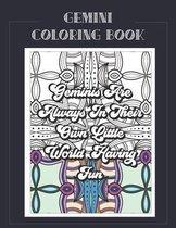 Gemini Coloring Book