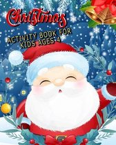 christmas activity book for kids ages 4
