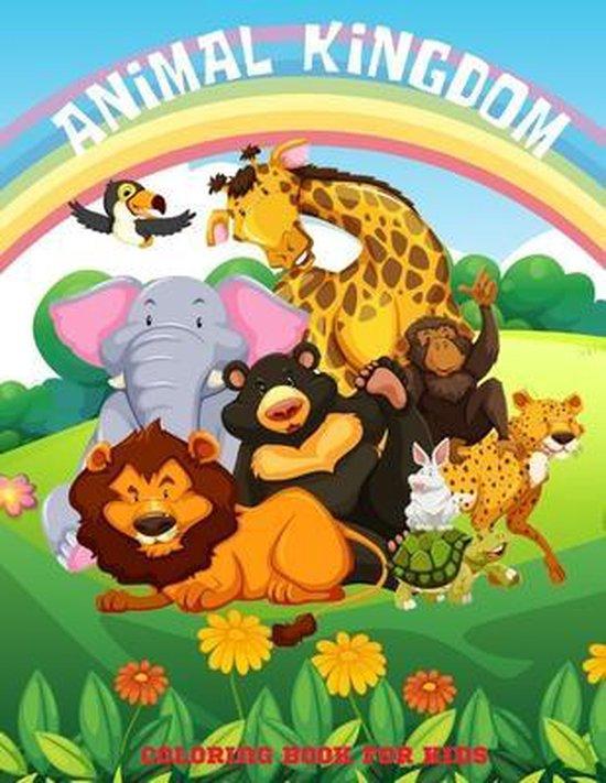 ANIMAL KINGDOM - Coloring Book For Kids