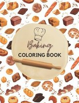 Baking Coloring Book