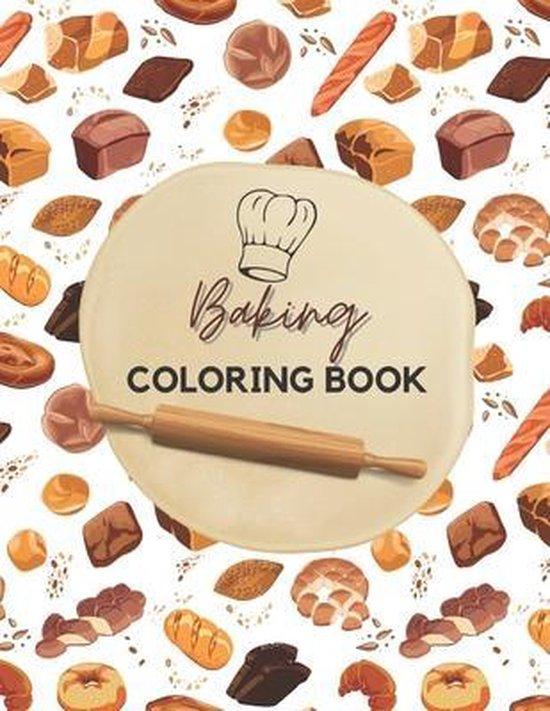 Baking Coloring Book
