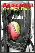 Baseball Coloring Book For Adults