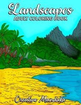Landscapes - Adult Coloring Book