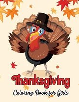 Thanksgiving Coloring Book for Girls