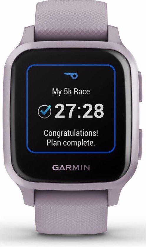 Garmin Venu Sq - Health smartwatch - Lavender/Rose Purple