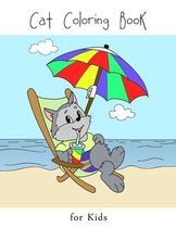 Cat Coloring Book for Kids