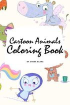 Cartoon Animals Coloring Book for Children (6x9 Coloring Book / Activity Book)