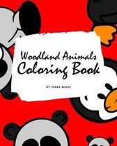 Woodland Animals Coloring Book for Children (8x10 Coloring Book / Activity Book)