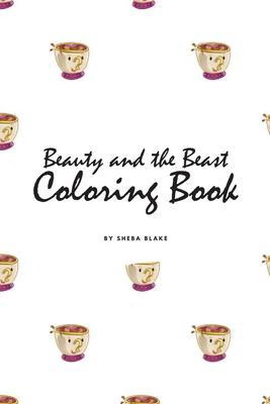 Beauty and the Beast Coloring Book for Children (6x9 Coloring Book / Activity Book)