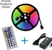 DiamantLED -LED Strip RGB -15m -compleet set -5050 -60 Led/m(3X ROL 5M)