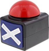 Sound Button Knop Zoemer Rood Kruis 10 meter bereik