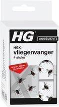 HGX vliegenvanger - 4 stuks - bevat geen giftige stoffen