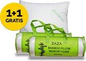 Bamboe kussen - Bamboo Kussen - Cool Comfort - ZAZA Origineel Bamboekussen voor een ideale nachtrust - Zacht, Koel en Druk verlagend - 50 x 60 CM